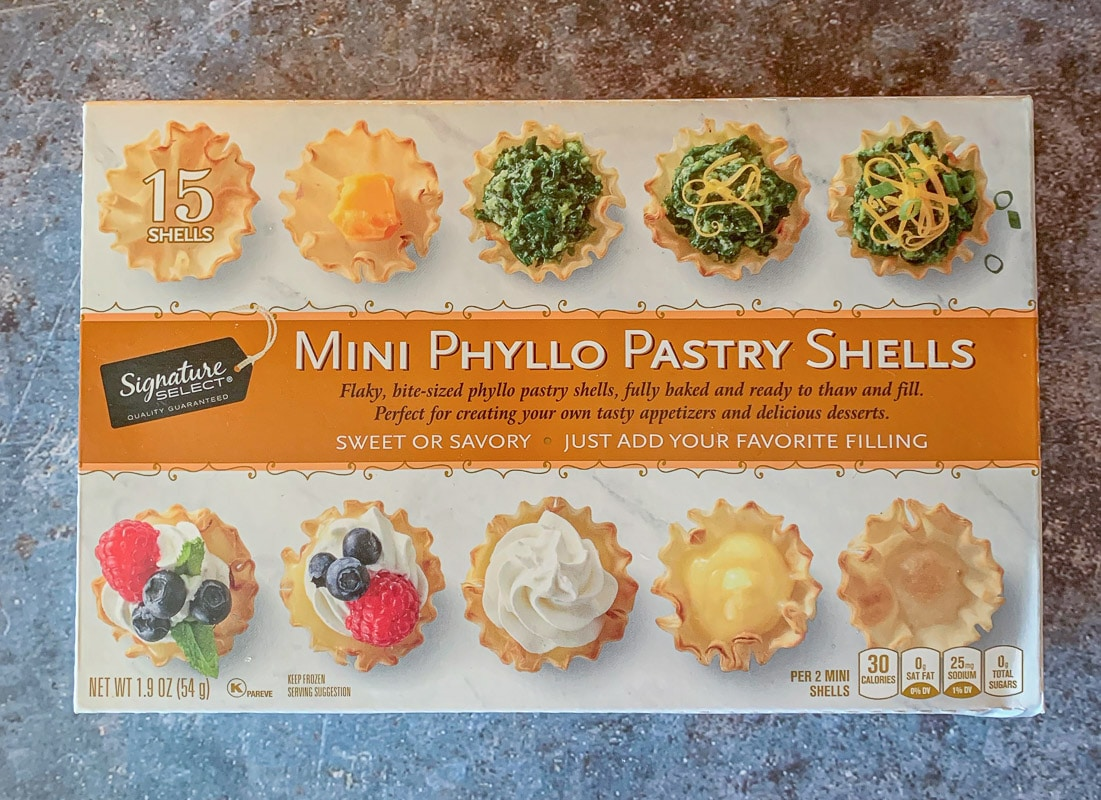 phyllo cups package