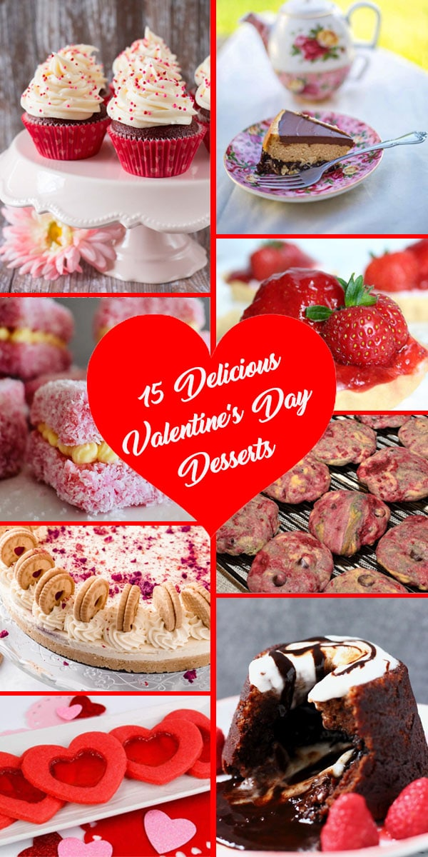 15 delicious Valentine's Day desserts you have to try!