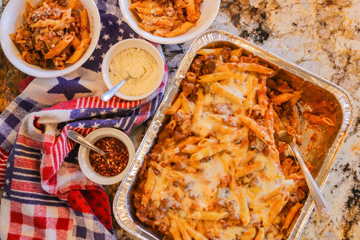 baked penne pasta main
