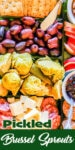 Pickled Brussel Sprouts pin