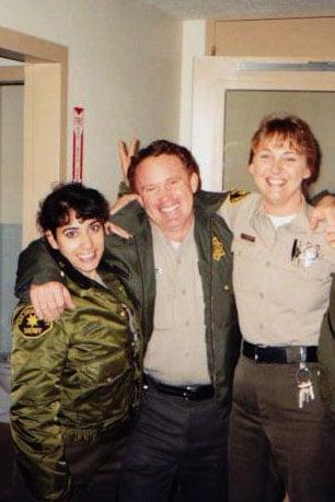 3 deputies posing together
