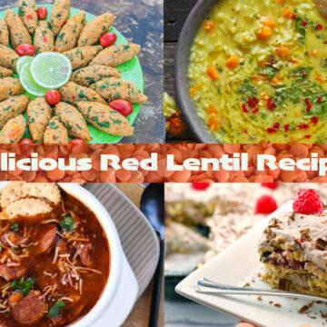 red lentil recipes