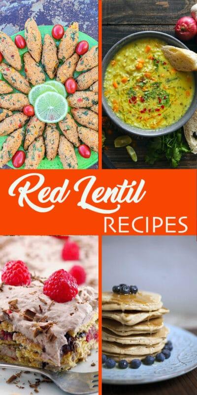 red lentil recipes pins