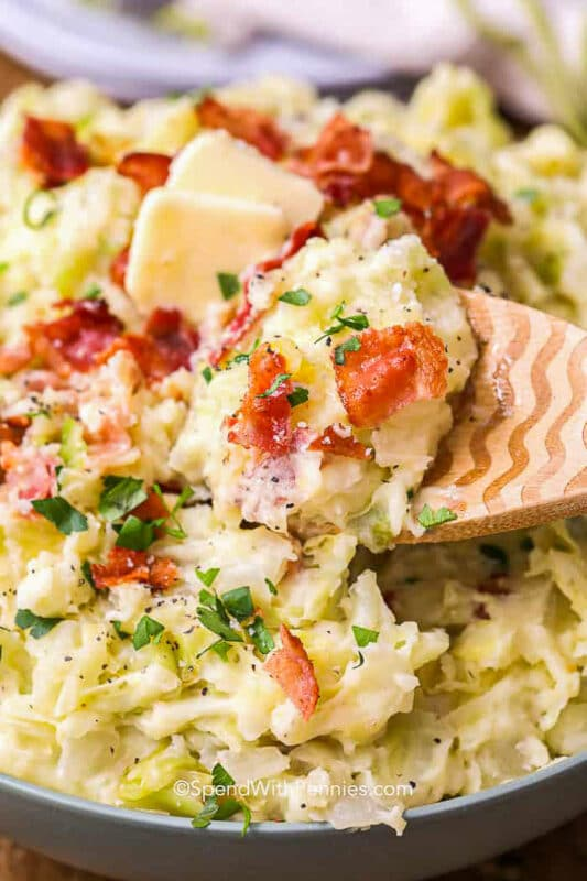 potatoes and cabbage : St. Patrick's Day recipes: