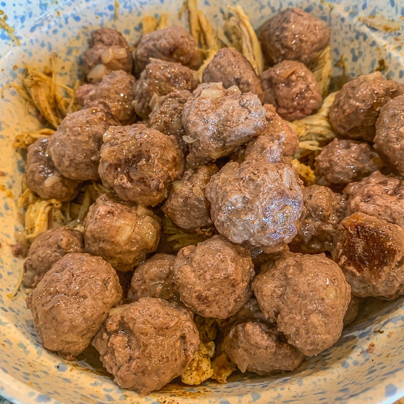 browned meatballs in a bowl