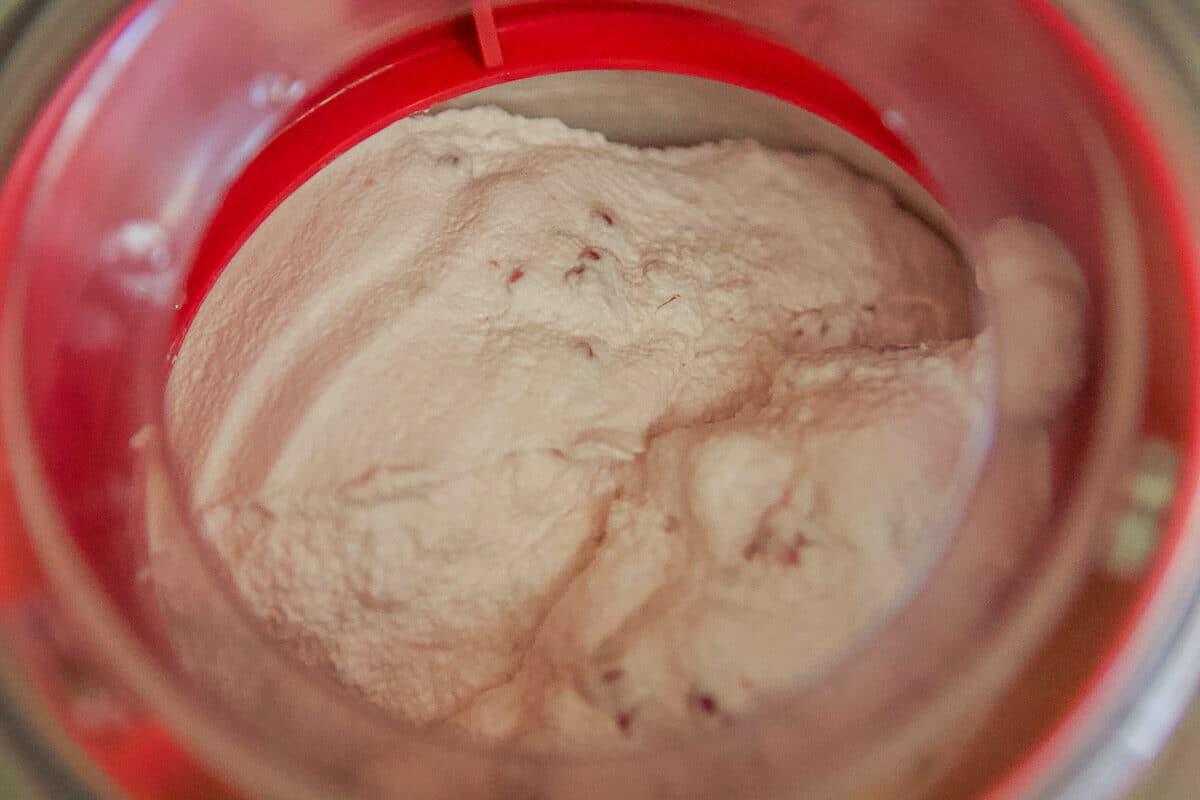 raspberry cheesecake ice cream