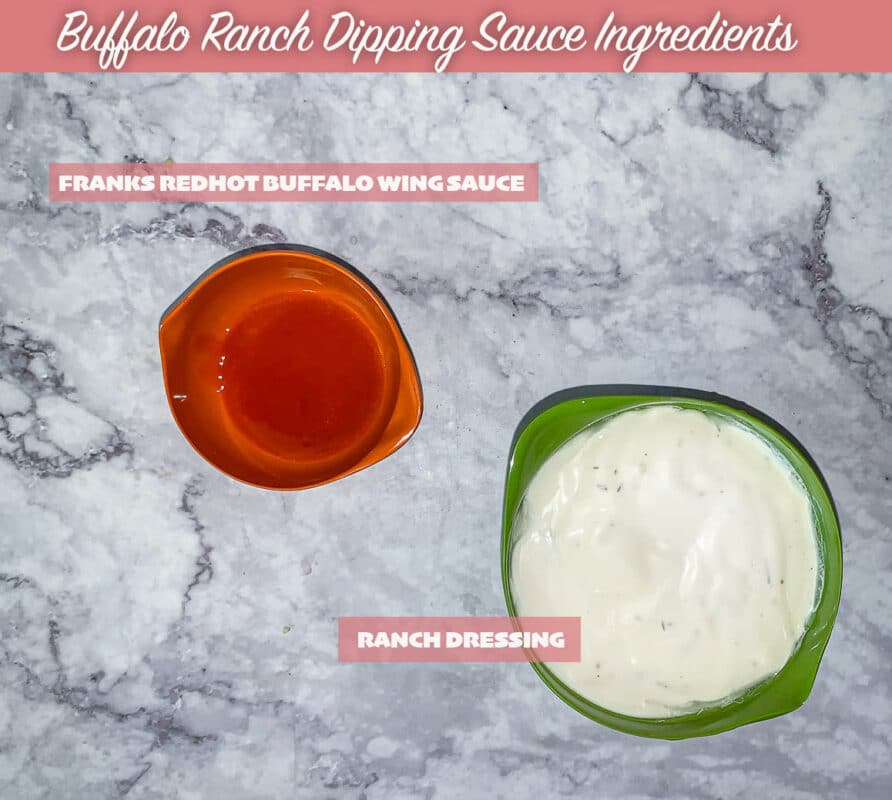 labelled buffalo ranch dressing recipe ingredients