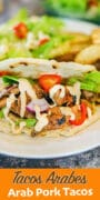 tacos Arabes Puebla pin