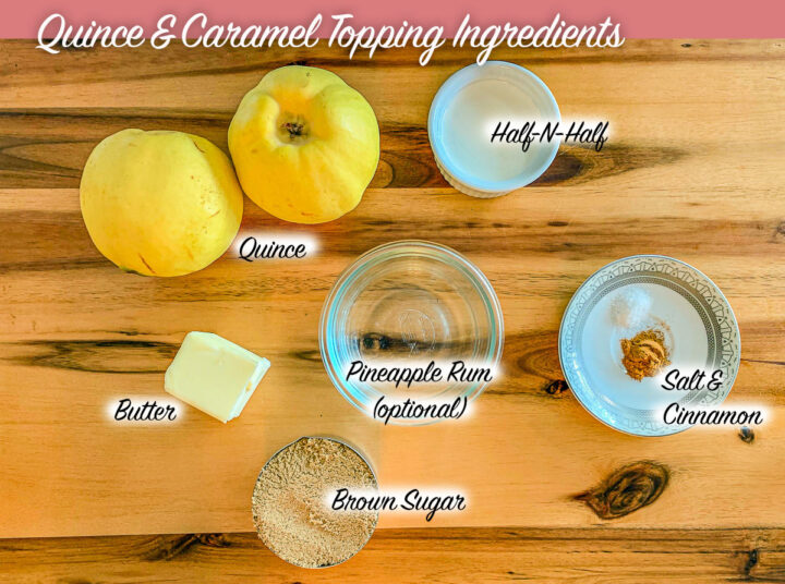 quince cake ingredients