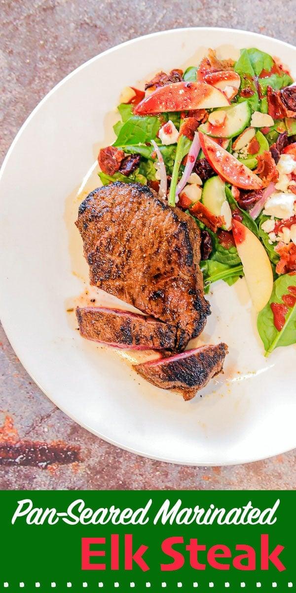 elk steak and salad (pin)