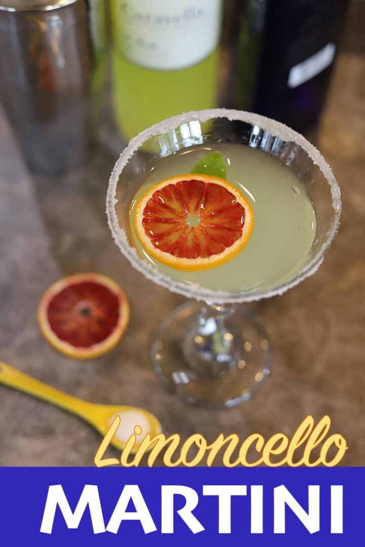 limoncello martini recipe