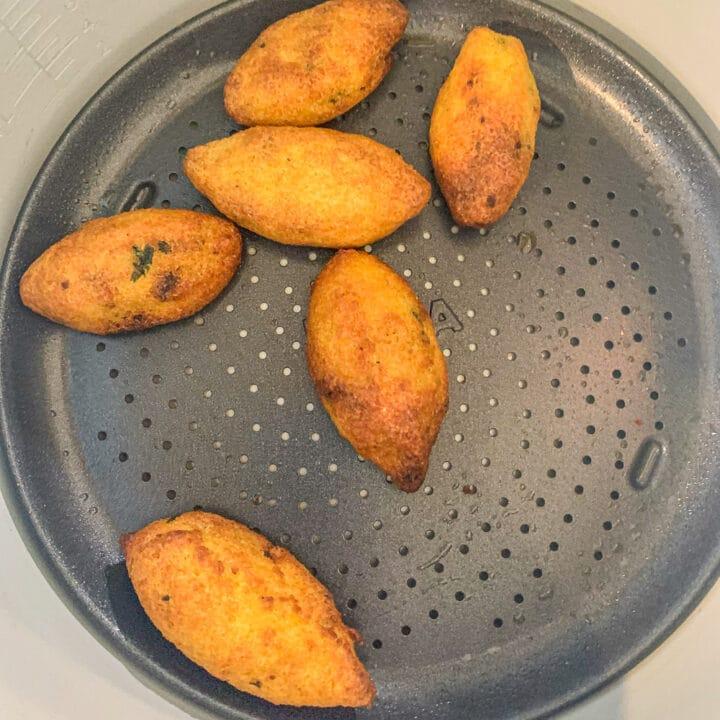 air fried Kubba Halab