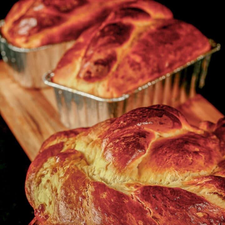easter paska bread
