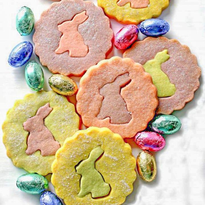 shortbread Easter cookies