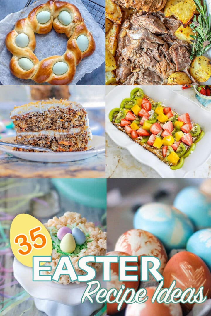 Easter recipes Round up Pin