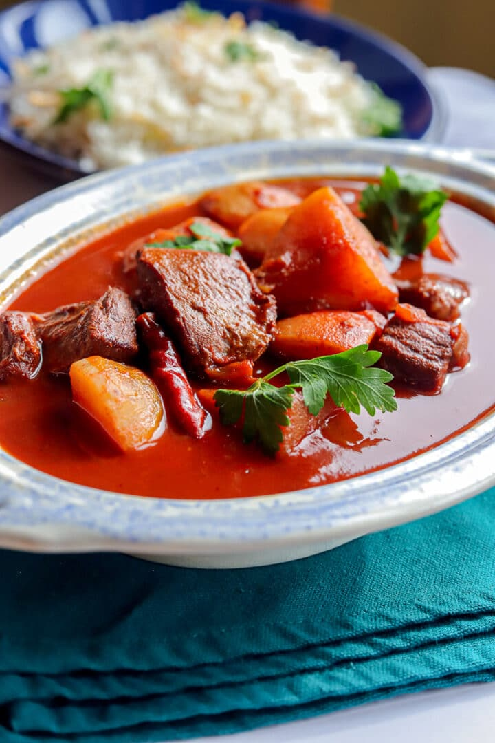 shalgam stew with rice
