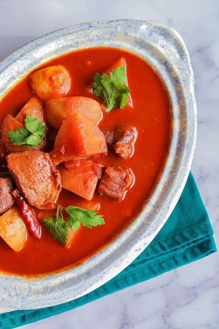 Shalgam stew