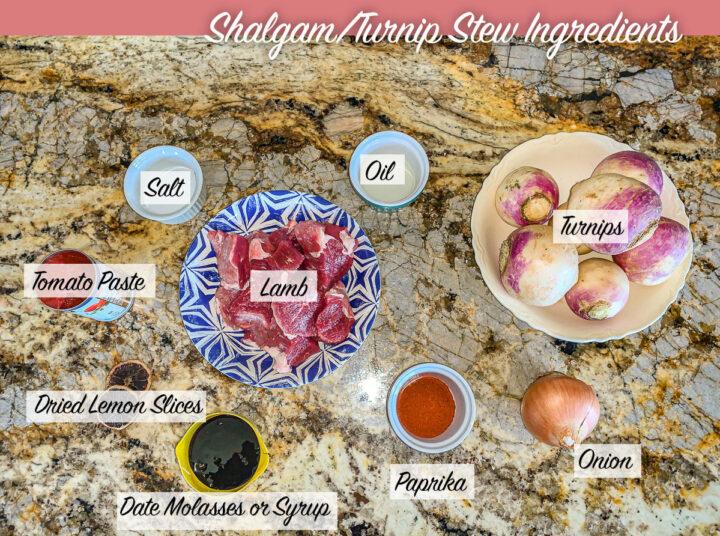 shalgam stew recipe ingredients