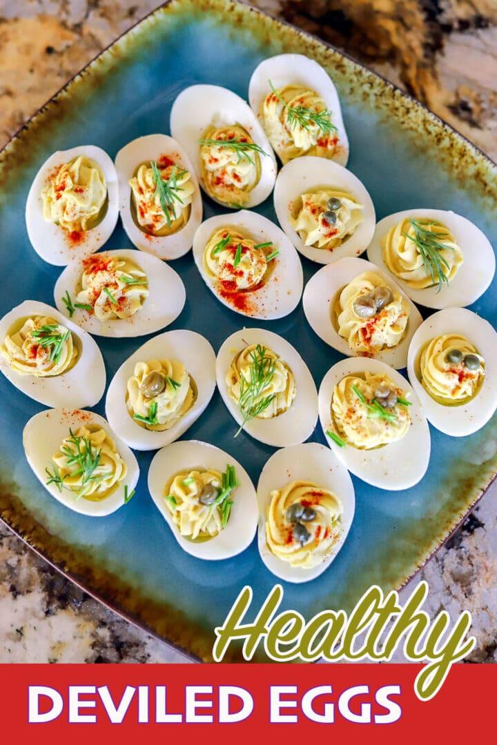 Keto deviled eggs pin