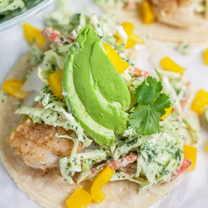 fish tacos (Cinco De Mayo Recipes)