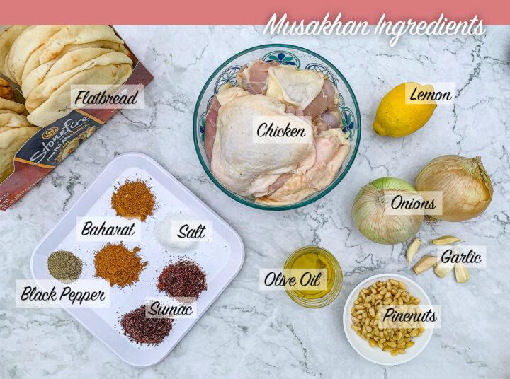 musakhan chicken recipe ingredients