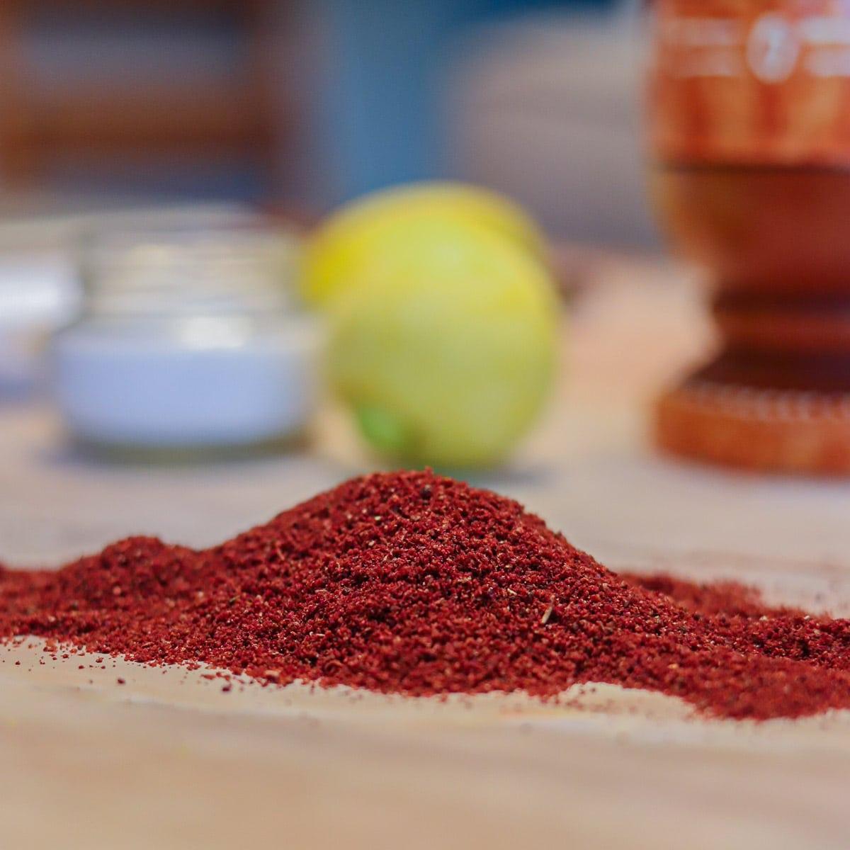 sumac substitute ingredients