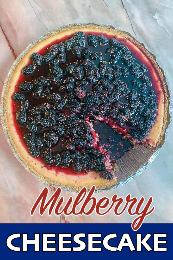 mulberry cheesecake pin