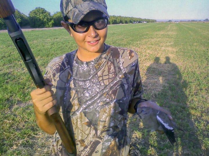 boy hunting, scotty