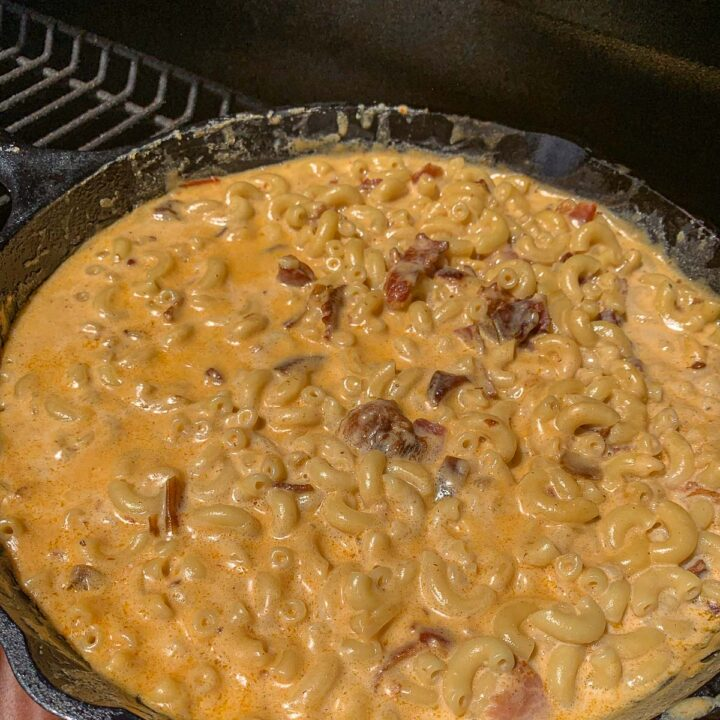 chipotle smoked Mac and cheese