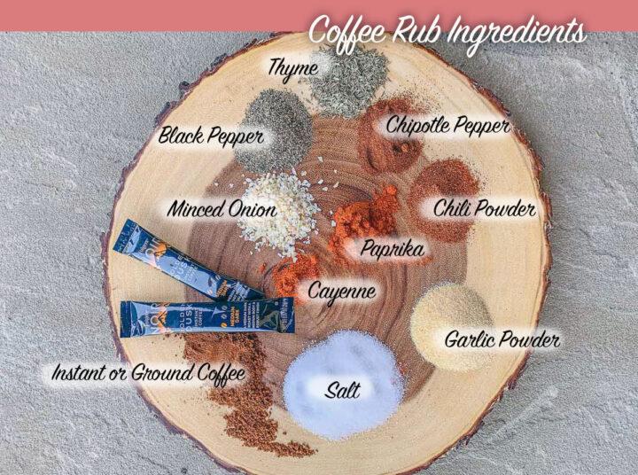 coffee rub ingredients