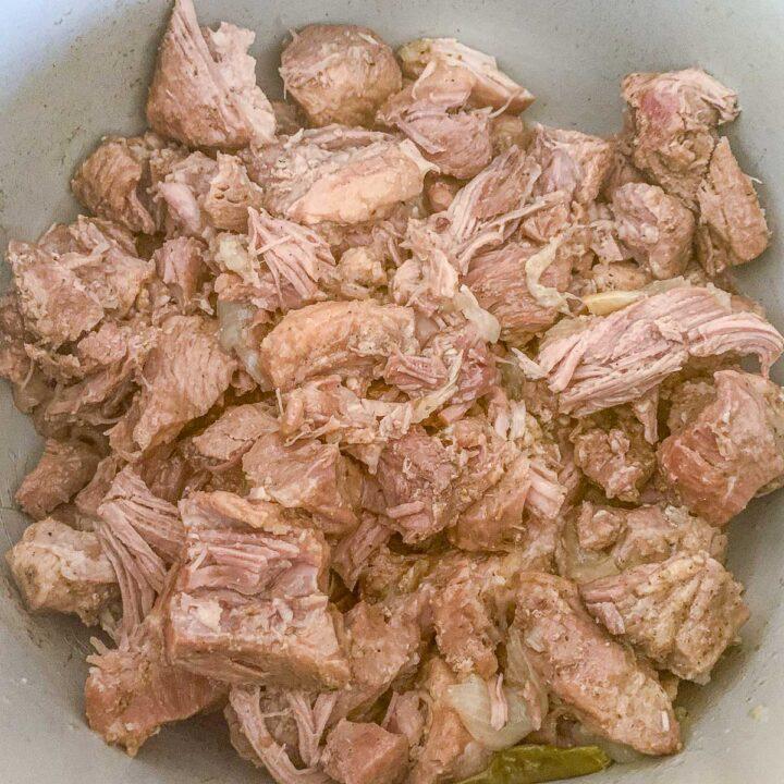 pork carnitas in an instant pot