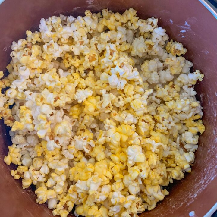 popcorn with candy corn